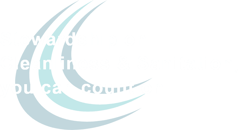 Stewardship on Cleanliness & Sanitation, you can count on